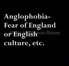 Well if I had this phobia I couldn't watch my favorite BBC television shows