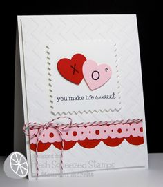 Fresh Squeezed Stamps: Squeeze-A-Palooza #4 - Valentine's Day