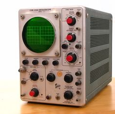 I spent many hours with this type of Tektronix Oscilloscope in HS and College.