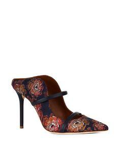 Shoes | Heels & Pumps  | Maureen Jacquard Mule Pumps | Hudson's Bay
