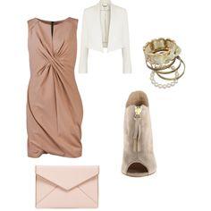 #suede #pastels #pink #dress #white #top #X-draped #shift #dress #crepe #blazer