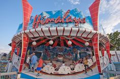 The Himalaya was my first adult carnival ride. My uncle took me on it when I was about 4yrs old. It went forward and then reverse so it seemed like an extra long ride!