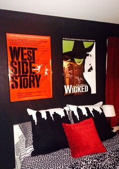 1000 images about broadway themed teen room on pinterest for Broadway themed bedroom ideas