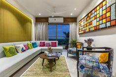 Swapneel Elysium - Best Architecture Photographer in Ahmedabad Flat Interior, Interior Concept, Apartment Interior, Interior Design, Living Room Designs, Living Room Decor, Living Rooms, Living Area, Hall Design