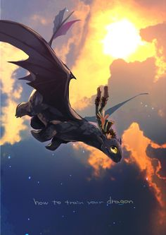 How to train your dragon, toothless, hiccup, night fury, dragon, viking