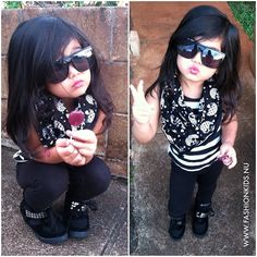 I'll totally dress my daughter like this!