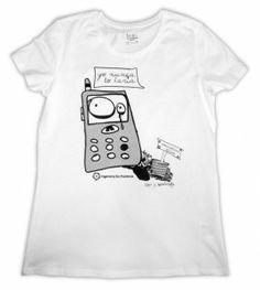Camiseta para chicas