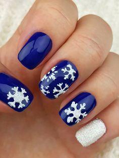 Flocon de neige Nail Art pochoirs  incroyable nail vinyles