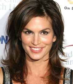 Cindy Crawford...lovin her hair here.