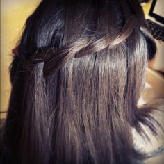 The Two-Strand Waterfall Braid