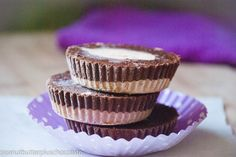 Don't sweat sweet-tooth cravings. Instead, hit them with healthy ice-cold peanut butter cups.!