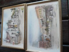 Prints - Philip Bawcombe TWO PRINTS - THE UNION CHAPEL JOHANNESB. & ROYAL HOTEL PELGRIMSREST for sale in Napier (ID:191030409)
