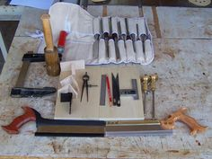 Tools used in making dovetails