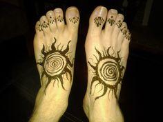 Henna for Boys feet! Henna For Boys, Henna Designs, Tattoos, Hennas, Diwali, Sweets, Lights, Decor, Henna Art Designs
