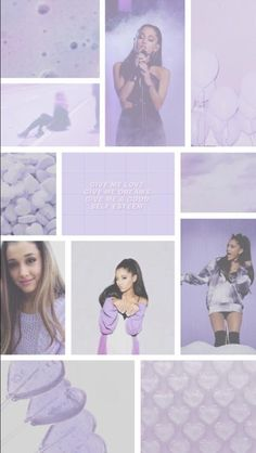 Purple works too. Ariana Grande Background, Ariana Grande Wallpaper, Ariana Grande Pictures, Cat Valentine, Light Of My Life, Dangerous Woman, Queen, Aesthetic Wallpapers, Cute Wallpapers