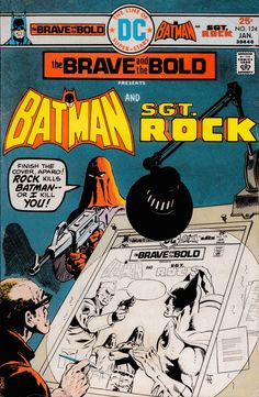 Brave and the Bold #124 (1976). Cover art: Jim Aparo. A collection of the BEST COMIC BOOK COVERS starring BATMAN from the mind of Pinterest's BATCAVE DWELLER!