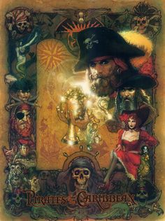 Disney's Haunted Masion Paintings | ... Disney prints for 'Pirates of the Caribbean,' 'Haunted Mansion