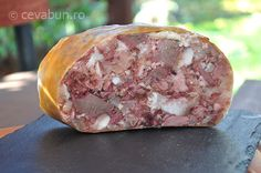 Toba de porc Charcuterie, Romania Food, Hungarian Recipes, The Cure, Pork, Appetizers, Dishes, Cooking, Breakfast