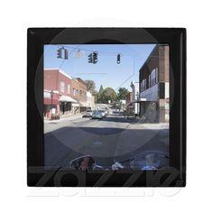 Main Street Keepsake Boxes from Zazzle.com