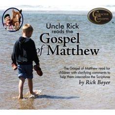 Uncle Rick Reads the Gospel of Matthew CD's $21