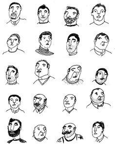 https://www.behance.net/gallery/7922819/Men-Women-Portrait-Study