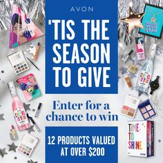I just entered the Avon Holiday Sweepstakes for a chance to win one of eight weeks of Avon Gift Giving! Free Sweepstakes, Avon Sales, Sales Representative, Avon Online, Latest Books, Sign I, Giving, Medium, Seasons