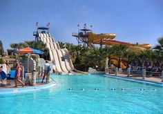Ayia Napa, Cyprus is the biggest theme water park in Europe! Will be visiting after the wedding :-)