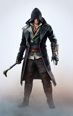 Jacob (White BG) - Characters & Art - Assassin's Creed Syndicate