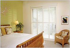 WAY better than vertical ones! Blinds For Sliding Glass Doors, Window Treatments Ideas