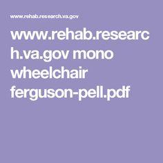 www.rehab.research.va.gov mono wheelchair ferguson-pell.pdf