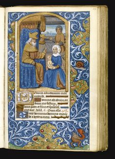 Book of Hours, Use of Rome, in Latin, illuminated manuscript on vellum [France (Paris), c.1500]   Lot   Sotheby's