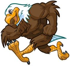 Illustration of Vector cartoon clip art illustration side view of a tough but friendly and cute bald eagle mascot running. vector art, clipart and stock vectors. Art And Illustration, Eagle Silhouette, Animal Silhouette, Eagle Face, Bald Eagle, Eagle Cartoon, Cartoon Clip, Wings Sketch, Eagle Drawing