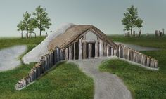 What lies beneath: Archaeologists now believe that Stonehenge was at the centre of a vast network of religious monuments. Among the discoveries is a 100ft-long wooden building, or long barrow