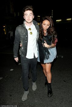 Jesy Nelson and Jake Roche>>> they are PERFECT