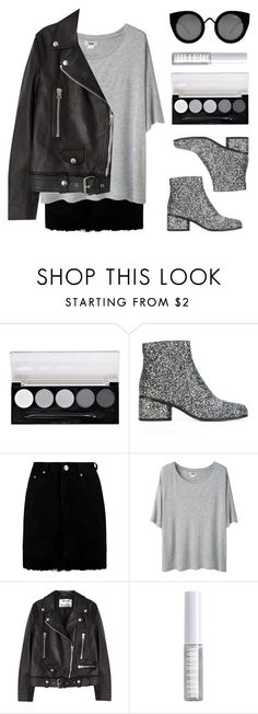 """Shades of Grey"" by baludna ❤ liked on Polyvore featuring L.A. Colors, Marc Jacobs, Boohoo, Acne Studios, Lord & Berry and Quay"