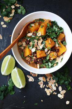 Pumpkin and Adzuki Bean Masala Curry - Nirvana Cakery