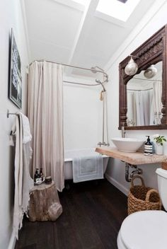 Modern/Vintage bathroom