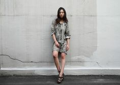 2016SS shirt dress