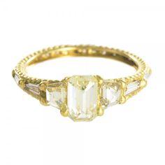 Diamond Atrium Ring by Polly Wales