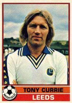 Topps Footballer - English (Red Backs) Tony Currie Soccer Cards, Football Cards, Baseball Cards, British Football, First Football, The Damned United, Sport English, Leeds United, Trading Card Database