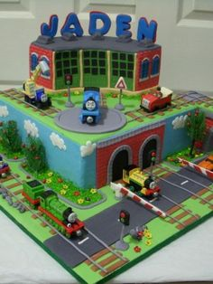Top Thomas & Friends Cakes - Top Cakes - Cake Central