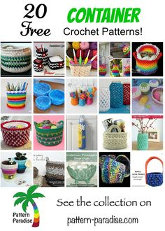 Containers Round up on Pattern-Paradise.com