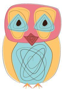 Day 177: Dizzy Up the Owl from owladay.wordpress.com