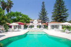 Luxury Beachfront Villa for Sale in Guadalmina Baja, Costa del Sol, Spain.