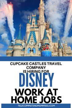 Do you love travel and all things Disney? Why not make a work at home career out of it? Work from home planning Disney vacations. This is a great job for stay at home moms and a great way to make money online. Work From Home Careers, Work From Home Companies, Legitimate Work From Home, Cash From Home, Earn Money From Home, How To Make Money, Disney Vacations, Disney Trips, Best Home Business