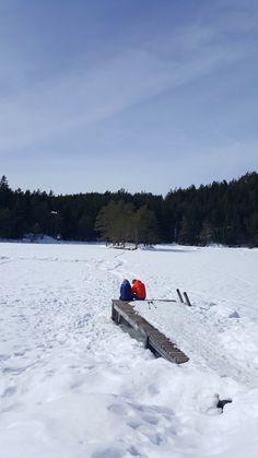 Winter in Mösern - Möserer See Alps, Austria, Mountains, Winter, Nature, Travel, Voyage, Trips, Viajes