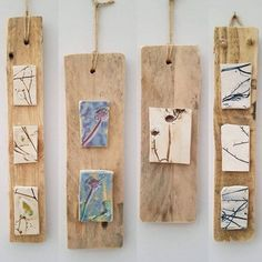 Hanging Decorations / Wall Art – Pottery – # Hanging # Toppers … - All For Herbs And Plants Clay Wall Art, Ceramic Wall Art, Clay Art, Ceramic Decor, Ceramics Projects, Clay Projects, Clay Crafts, Hanging Wall Art, Wall Art Decor