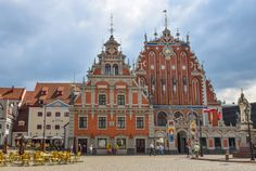 The House of Blackheads, Riga, Latvia