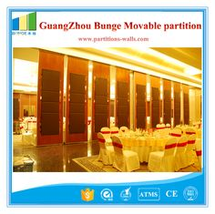 Floor to Ceiling Acoustic movable sound proof partition wall With Sliding Door