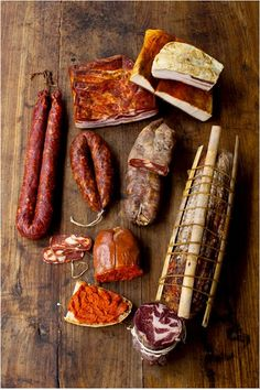 Photo by Sara Remington - well organized - Brot Charcuterie, Curing Salt, Rustic Food Photography, Meat Markets, Biltong, Meat And Cheese, Base Foods, Carne, Tapas